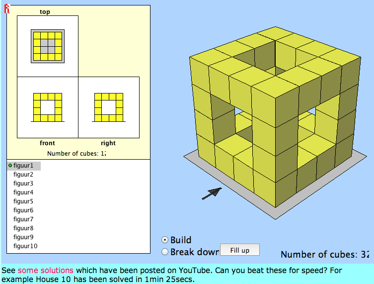 Nets great maths teaching ideas for Interactive house builder