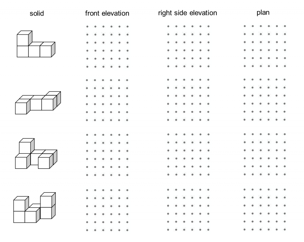 Plan And Elevation Worksheet : Picture