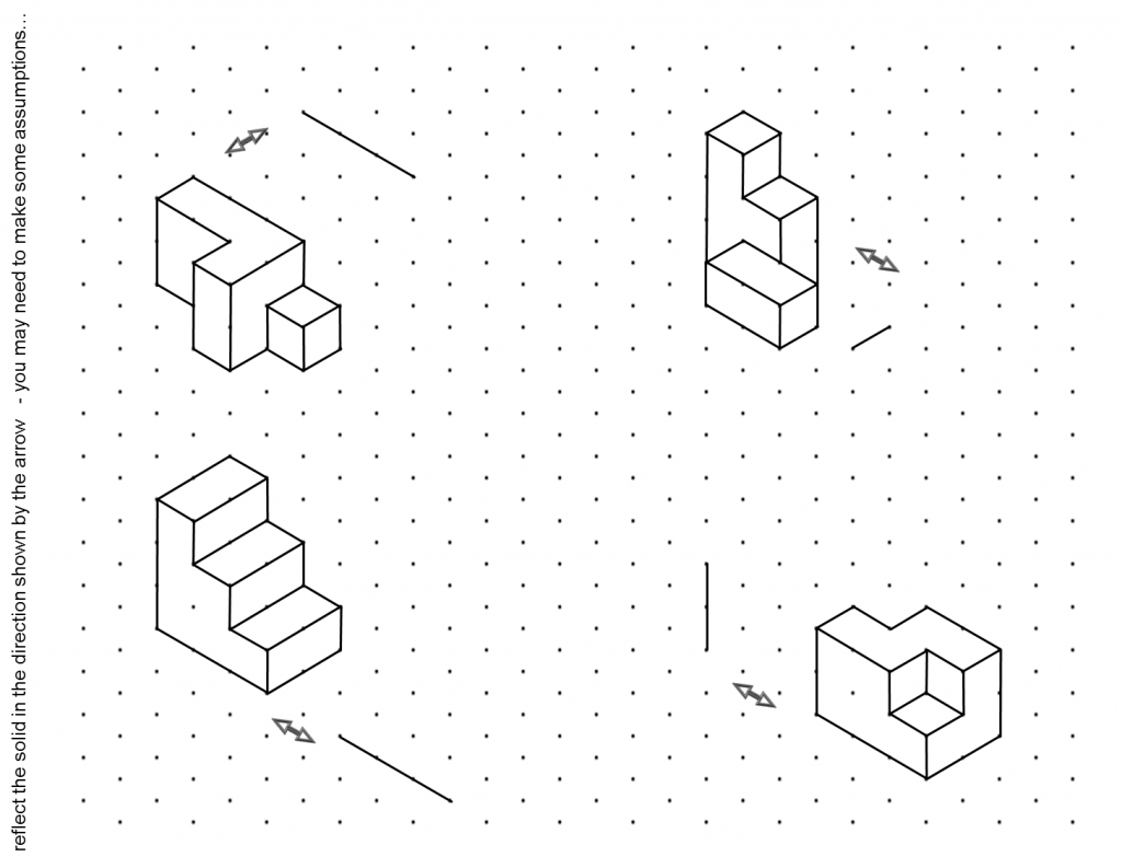 Isometric Drawing Worksheets | ABITLIKETHIS
